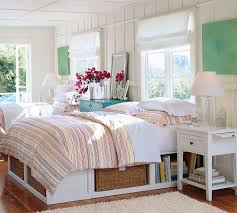 Beach Bedroom Ideas by Nice Looking Twin Teenage Bedroom Beach House Deco Contains