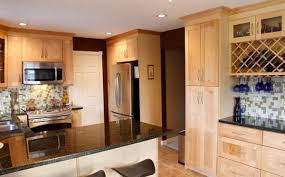 Light Kitchen Cabinets Impressive Light Brown Kitchen Cabinets From Unfinished Pine Wood