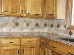 red wall tiles kitchen new cabinet doors and drawers dark granite