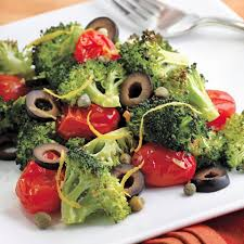 rachael ray roasted broccoli mediterranean roasted broccoli tomatoes recipe eatingwell