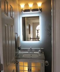 Decorative Mirrors For Bathrooms Wall Mounted Lighted Vanity Make Up Mirror