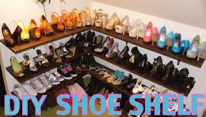 Closet Shoe Organizer by Engrossing Build A Closet Shoe Rack Roselawnlutheran