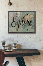 World Map Home Decor 29 Best Travel Inspired Home Decor Ideas And Designs For 2017