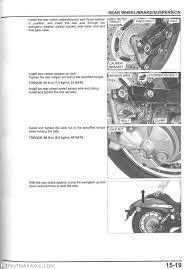 2010 2017 honda vt750c2 shadow spirit motorcycle service manual