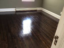 Laminate Dark Wood Flooring Laminate Hickory Flooring Combined Black Leather Chesterfield Sofa
