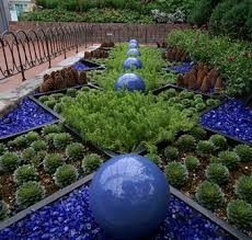 colored rocks for garden