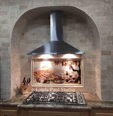 murals for kitchen backsplash kitchen backsplash classy tile murals for sale tuscan wall tile