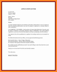 7 unsolicited application letter model resumedapplication