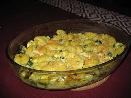 cuisiner les gnocchis gratin de gnocchis aux courgettes et au chèvre