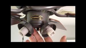 Ceiling Fan Light Pull Chain Switch How To Replace A Hton Bay Ceiling Fan Pull Chain Www