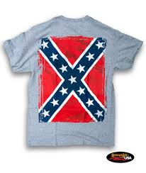 Confederate Flag Pin Confederate Flag Sport Grey T Shirt Motorcycle Rally Usa