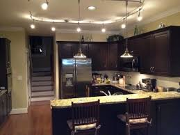 Track Lights For Kitchen Kitchen Track Lighting With Pendants Flex Track For Our