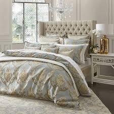 castille teal quilt cover set by davinci planet linen