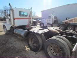 kenworth chassis 1983 kenworth w900 semi truck item ae9038 sold march 18
