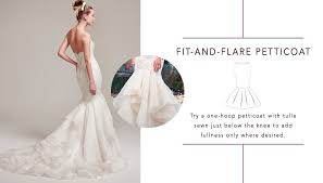 wedding dress hoop picking a petticoat