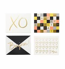 graphic assorted set greeting card by garance doré made in usa