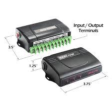 xkglow xk051004 box 6 channel dual zone strobe work light