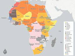 Map Of Sub Saharan Africa Mapping Africa U0027s Natural Resources U2013 Aj Labs U2013 Medium