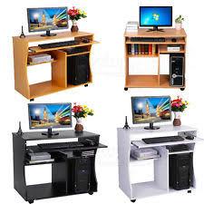 Computer Desk Wooden Wooden Computer Desk Ebay
