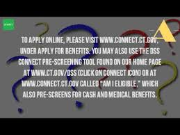 how do i apply for food stamps in ct youtube