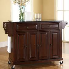 kitchen islands furniture darby home co pottstown kitchen island with granite top u0026 reviews