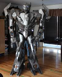 transformers halloween costumes crazy autobot silverbolt costume transformer costume cosplay