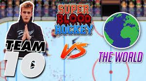 team jake paul vs the world super blood hockey youtube