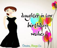 birthday wishes for daughter in law occasions messages