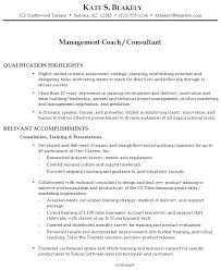 Training Resume Examples by Resume For A Management Coach Consultant Susan Ireland Resumes