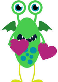 monster heart cliparts free download clip art free clip art