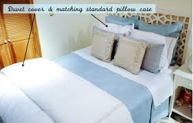 Hudson Park Duvet Cover Styling Your Bed A Guide To Duvets Shams And Quilts