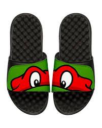 islide teenage mutant ninja turtles raphael slide sandal black
