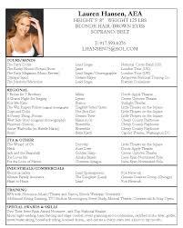 resume templates pdf samplebusinessresume com page 37 of 37 business resume acting resume sample free acting resume template pdf by lauren hansen