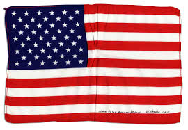 Joseph Stalin Flag Apollo 15 Flown Flag From Astronaut Al Worden Sells For 7 496