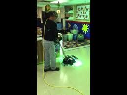 vinyl floor uv floor finish curing with uv light in green b