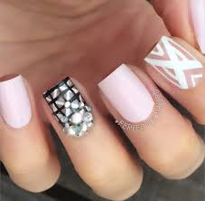 simple nail art for short nails perfectly nailed