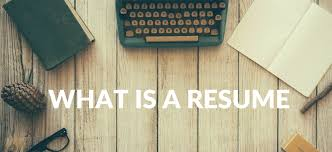 What Is An Resume What Is A Resume It Is The Best Marketing Tool To Get A Job
