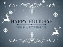 holiday powerpoint templates free animated happy holidays ppt