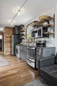 tiny container homes the interior of the freedom tiny house from minimalist homes