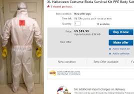 Hazmat Halloween Costume Ebola Hazmat Suit U0027s Bad Taste Halloween Costume