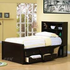 Bookcase Bed Full Bookcase Storage Bed Ebay