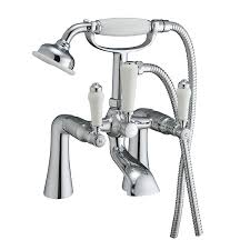 victorian traditional bath shower mixer ceramic lever chrome tap victorian traditional bath shower mixer ceramic lever chrome tap amazon co uk kitchen home