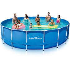 Intex Metal Frame Swimming Pools Summer Waves 18 U0027 X 48