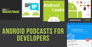 podcasts on android updated list of android development podcasts