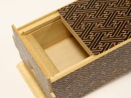 Secret Compartments In Wooden Japanese - japanese puzzle box 35steps with secret compartment kurosaya