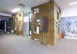 Interior design exhibition corridor