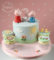 George Pig Cake Decorations Peppa Pig Cake George Pig Cake Birthday And Vanilla