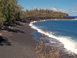 kehena black sand beach a clothing optional beach in puna u2026 flickr