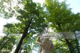 Summer Garden St Petersburg Russia - russia saint petersburg sculpture in summer garden stock photo