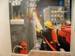 chambre enfant pompier chambre d enfant pompier deco